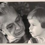 Фотографія Барабашова з онукою. 1967 р., ф.Р-5875, оп.1, спр.636, арк.1
