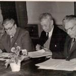 М.П. Барабашов у складі президії планетної комісії Астрономічної ради АН СРСР . ф.Р-5875, оп.1, спр.638, арк.1