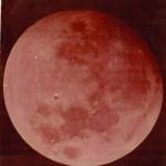 Фотографія Місяца, підготовлена М.П. Барабашовим до статті  про наукове вивчення планети.  ф.Р-5875, оп.1, спр.154, арк.2