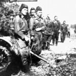 Група танкістів 69 армії, які приймали участь у звільнені від німецько-фашистських загарбників м. Харків. Серпень 1943 р. 0-17919