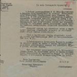 Обіжник віце-бургомістра 6-го району м. Харків до доглядачів житлових будинків щодо опису  майна квартир, що належали євреям. 6 березня 1942 р. ф.Р. - 3069, оп. 1, спр. 40, арк. 2
