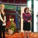 Посол Латвії в Україні Аргіта Даудзе (з права) та заступник голови ХОДА Юлія Світлична