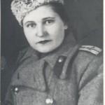 Л.Т. Малая (видатний кардіолог, академік) у роки ІІ-ї світової війни. Фотознімок. 1944 року. ф.Р-6210, оп. 1, спр. 53, арк. 1.