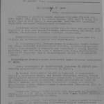 Обіжник Харківського обкому КП(б)У  та УНКВС    по   Харківській області  до секретарів районних комітетів КП(б)У про комплектування винищувальних батальйонів. 12 вересня 1943 року. ф. П-2, оп. 2, спр. 62,  арк. 1