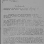 План заходів з відзначення річниці з дня визволення м. Харків від німецько-фашистських окупантів, затверджений Харківським  обкомом КП(б)У. 10 липня 1944 року. ф. П-2, оп. 2, спр. 407, арк. 2