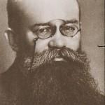 М. С. Грушевський. Поштова, виготовлена у 1917 р. з фотографії 1905–1906 рр. 1905-1906 роки. ЦДІАК України, ф. 1235, оп. 1, спр. 923 арк. 7