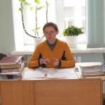 Доповідає головний спеціаліст відділу інформації та використання документів Державного архіву  Валентина Плисак
